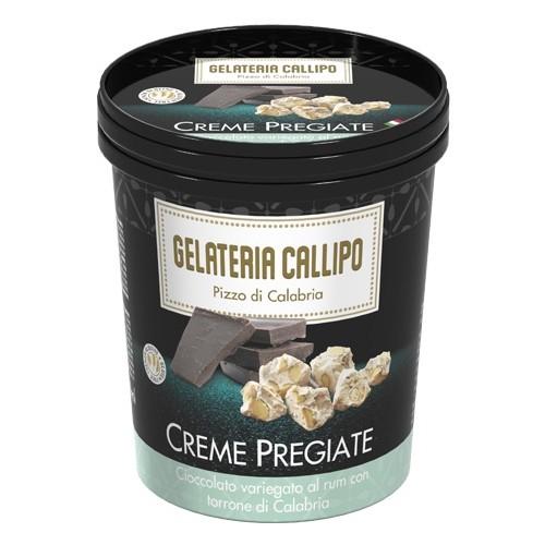 Creme Pregiate Cioccolato Torrone e Rhum 310gr CALLIPO