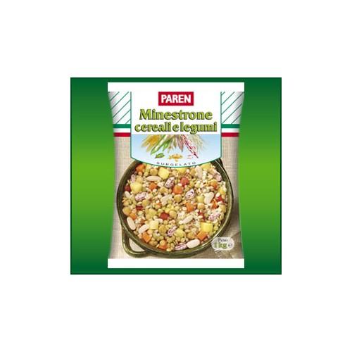 Minestrone cereali e legumi PAREN