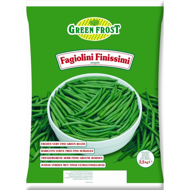 Fagiolini Finissimi 4buste x 2,5KG GREENFROST