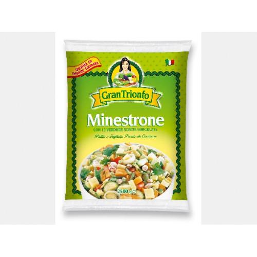 Minestrone 4 buste x 2,5KG GRAN TRIONFO
