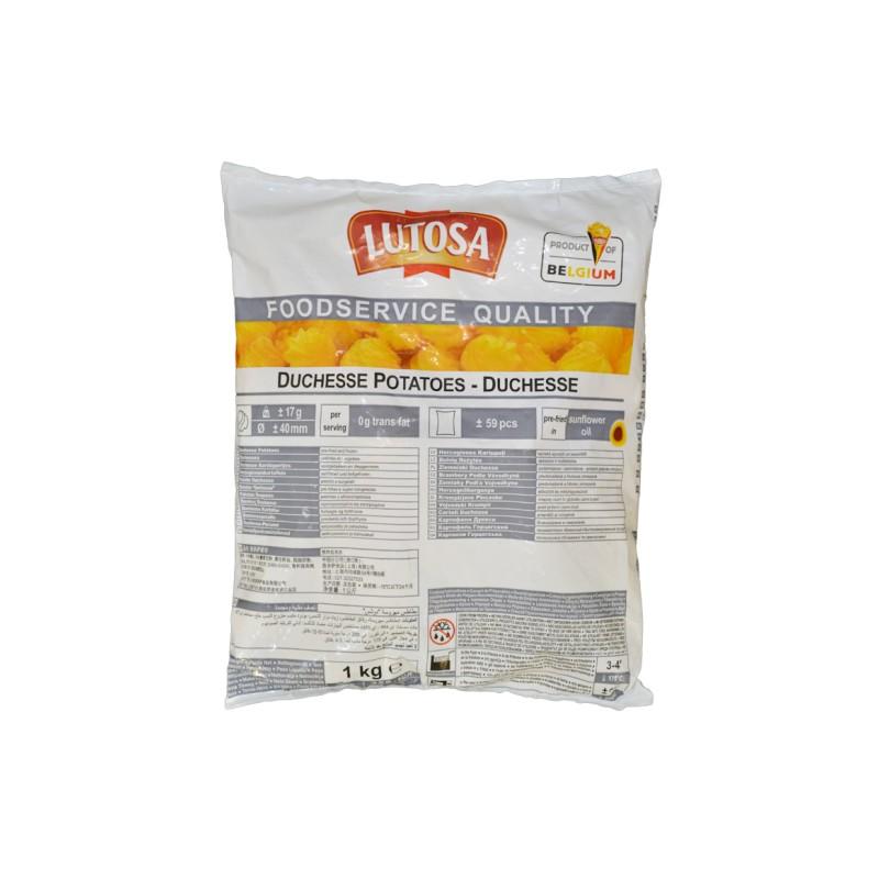 Patate Duchessa 4buste x 2,5KG LUTOSA