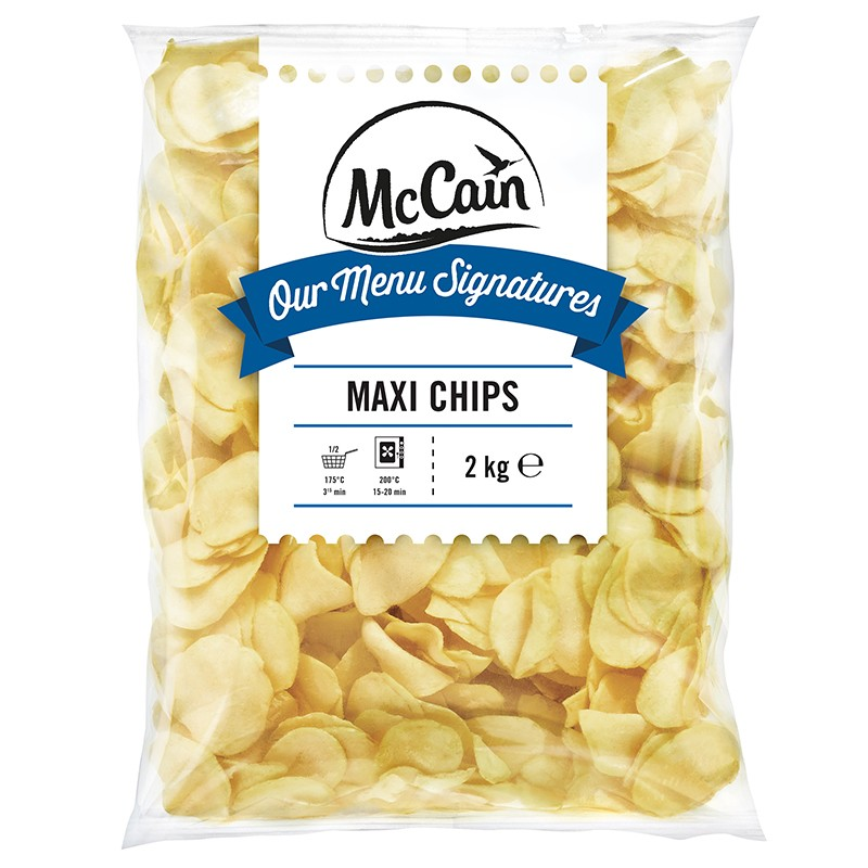 Patate Maxi Chips 5buste x 2KG McCAIN
