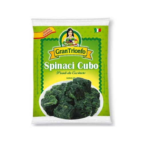 Spinaci 4buste x 2,5KG GRAN TRIONFO