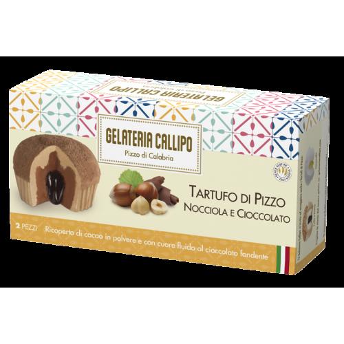 Tartufo Pizzo Nocc. Cioccolato 110gr x 2pz CALLIPO