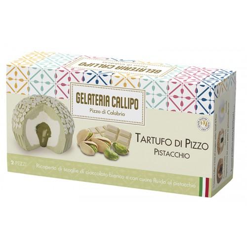 Tartufo Pizzo Pistacchio 110gr x 2pz CALLIPO
