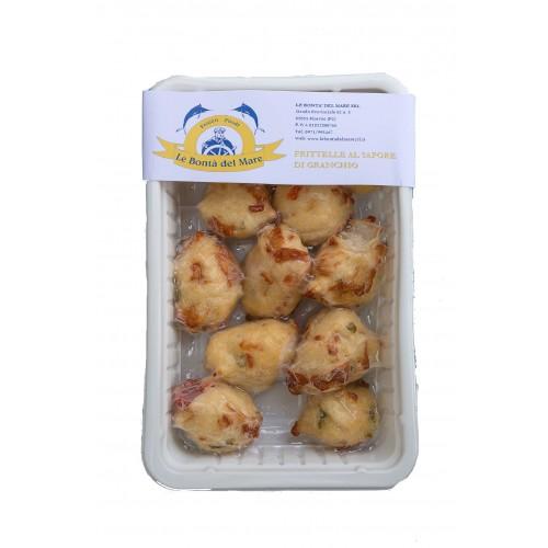Frittelle alla polpa di Granchio 220gr LEBONTADELMARE
